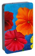 Pansies For Rosalina Portable Battery Charger