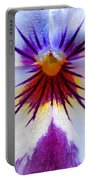 Pansy Abstract 1 Portable Battery Charger
