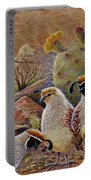 Papa Grande Portable Battery Charger by Marilyn Smith