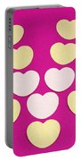 Paper Hearts Portable Battery Charger