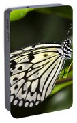 Paper Kite Butterfly On A Leaf  Portable Battery Charger