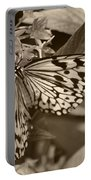Paper Kite On Frangipani Flowers Portable Battery Charger