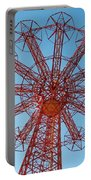 Parachute Jump-coney Island Portable Battery Charger