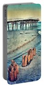 Paradise Cove Pier Portable Battery Charger