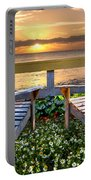 Paradise Portable Battery Charger by Debra and Dave Vanderlaan