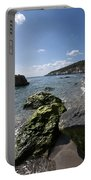 Binigaus Beach In South Coast Of Minorca Island Europe - Paradise Is Not Far Away Portable Battery Charger