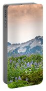 Paradise Meadows And The Tatoosh Range Portable Battery Charger