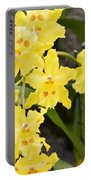 Paradise Orchid  Portable Battery Charger by Sonali Gangane