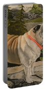 Paradise Pug Portable Battery Charger