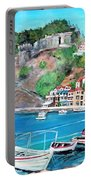 Parga In Greece Portable Battery Charger