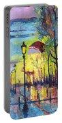 Paris Arc De Triomphie  Portable Battery Charger