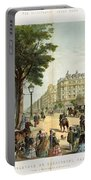 Paris Boulevard, 1859 Portable Battery Charger
