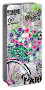 Paris By Jan Marvin Portable Battery Charger