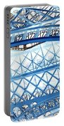 Paris Design In Blue Portable Battery Charger