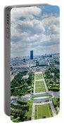 Paris From Above Portable Battery Charger