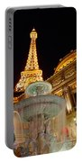 Paris Hotel And Casino In Las Vegas Portable Battery Charger