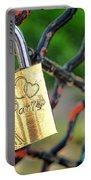 Paris Love Lock Portable Battery Charger
