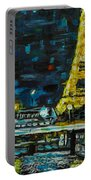 Paris Night Portable Battery Charger