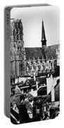 Paris Notre Dame, 1862 Portable Battery Charger