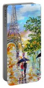Paris Romance Portable Battery Charger