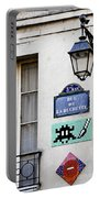 Paris Street Art - Space Invader Portable Battery Charger