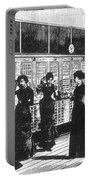 Paris Telephone Exchange, 1882 Portable Battery Charger