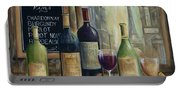 Paris Wine Tasting Portable Battery Charger