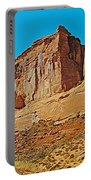 Park Avenue In Arches National Park-utah Portable Battery Charger