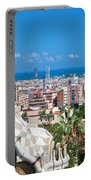 Park Guell Barcelona Portable Battery Charger