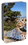 Park Guell In Barcelona Portable Battery Charger
