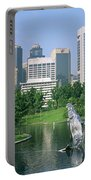 Park In The City, Petronas Twin Towers Portable Battery Charger