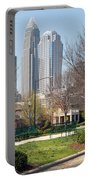 Park In Uptown Charlotte Portable Battery Charger