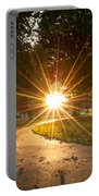 Park Sunburst Landscape Portable Battery Charger