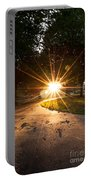 Park Sunburst Portrait Portable Battery Charger