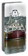 Parked Fishing Boats Portable Battery Charger