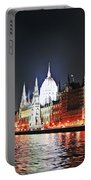 Parliament And The Danube Portable Battery Charger
