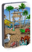 Parrot Beach Party Portable Battery Charger