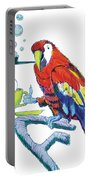 Parrot Cartoon Portable Battery Charger