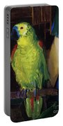 Parrot Portable Battery Charger by George Wesley Bellows