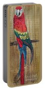 Parrot - Scarlet Macaw Portable Battery Charger