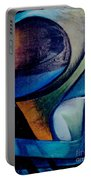 Part Of An Abstract Painting Portable Battery Charger