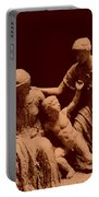 Parthenon Sculpture Portable Battery Charger