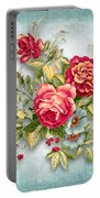 Party Of Flowers  Portable Battery Charger
