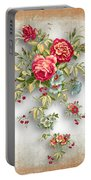 Party Of Roses  Portable Battery Charger