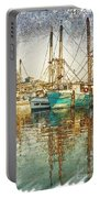 Pass Christian Harbor Sketch Portable Battery Charger