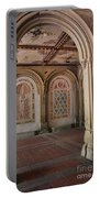 Passage Bethesda Terrace Nyc Portable Battery Charger