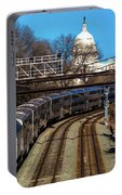 Passenger Metro Train With Us Capitol Portable Battery Charger