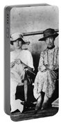 Passengers On Ship, 1912 Portable Battery Charger
