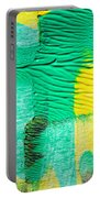 Passing Time Acrylic Mind Image  Portable Battery Charger by Sir Josef - Social Critic -  Maha Art