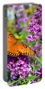 Passion Butterfly Portable Battery Charger